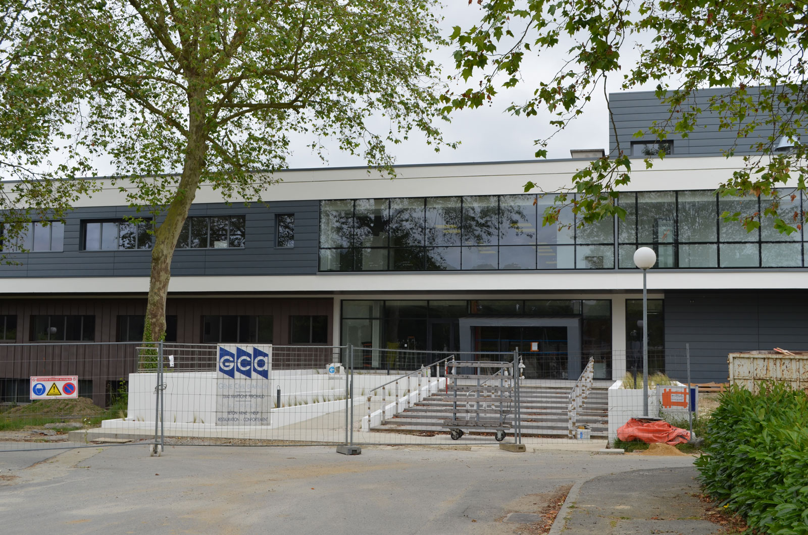 Ecole EHESP Rennes Travaux D'accessibilité Réalisé Par GCA