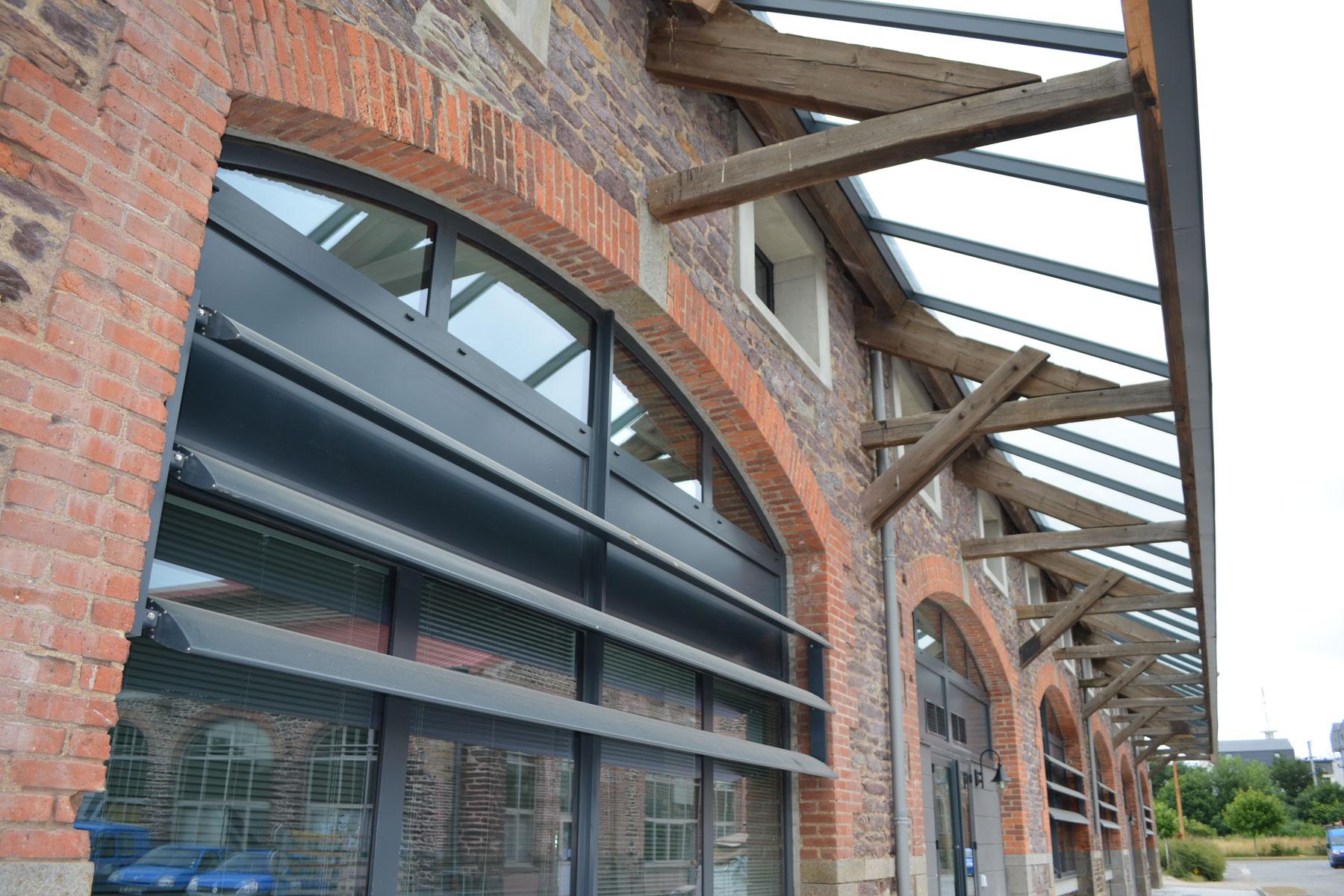 GCA : Rénovation des anciennes Halles à Rennes