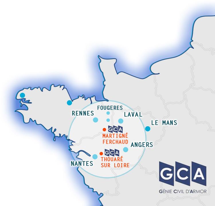 GCA-Construction : Martigné 35 - Thouaré 44