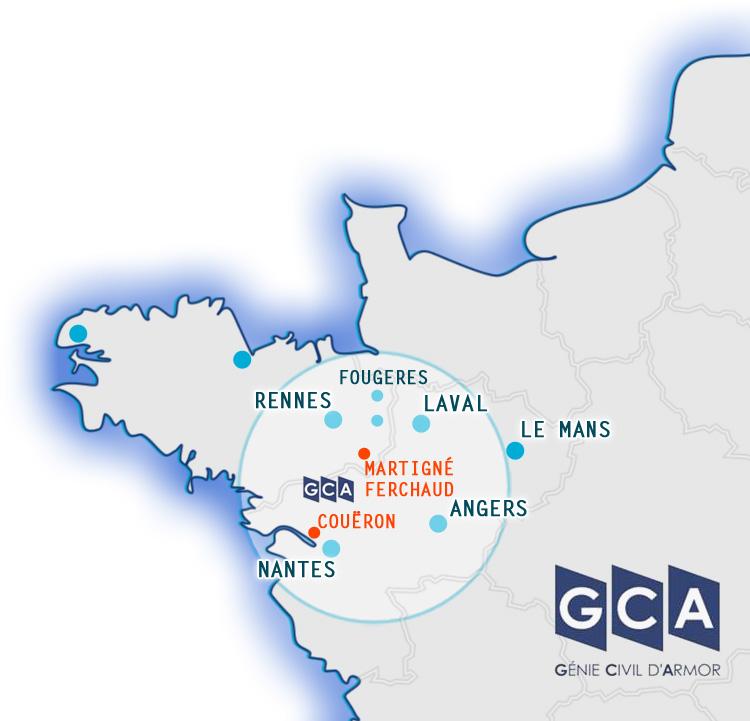 GCA-Construction : Martigné 35 - Coueron 44